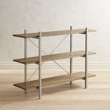 Benson Three Shelf Bookcase