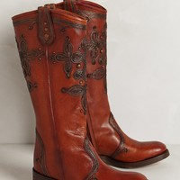 Embroidered Lillie Boots