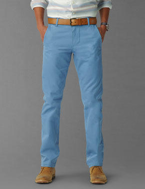 Light Blue Khaki Pants Pi Pants