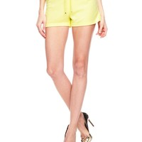 Snap Pocket Terry Shorts by Juicy Couture,