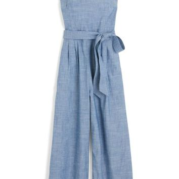 J.Crew Marseille Cotton Chambray Jumpsuit (Regular and Petite) | Nordstrom