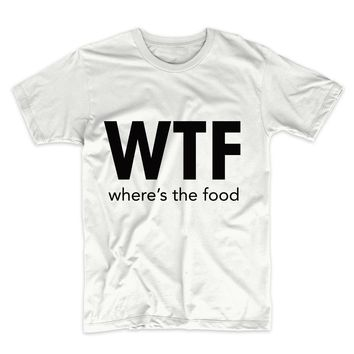 WTF Where's The Food, Unisex Graphic Tee