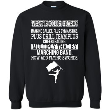 What Is Color Guard? Funny Flag Toss T-Shirt