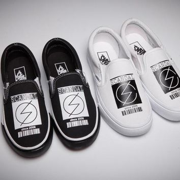 One-nice™ Vans : Scandal x Vans Slip-On Classics Old Sneaker