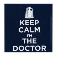 Doctor Who Keep Calm Magnet