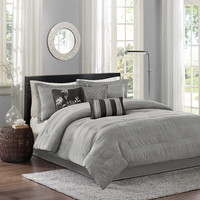 Madison Park Hampton Jacquard 7 Piece Comforter Set