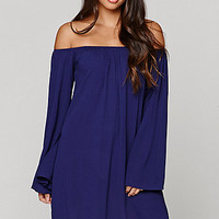 LA Hearts Bell Sleeve Shoulder Dress at PacSun.com