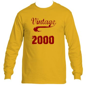 Vintage 2000 | Ultra Cotton® Long Sleeve Tees | Underground Statements