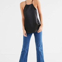 UO Silky Cross-Back Apron Top | Urban Outfitters