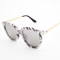Gold Sunglasses Glasses Vintage Mirror [4915074244]