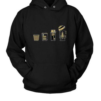 ONETOW Evolution Of A Wastebasket Hoodie Two Sided