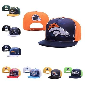 New Baseball Caps American Football Denver Broncos Embroidery Hip Hop Hats for Men Women Adjustable Sun Hat, Dropshipping!