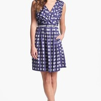 Ivy & Blu for Maggy Boutique Print Cotton Dress (Regular & Petite) | Nordstrom