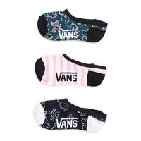 Wallflowers Canoodles 3 Pair Pack | Shop Womens Socks at Vans