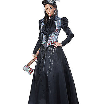 Adult Axe Murderess Costume - Spirithalloween.com