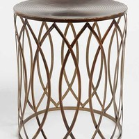 Concentric Metal Side Table- Bronze One