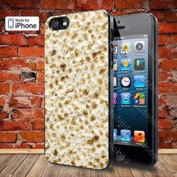 Passover Matzo Matzah Case For iPhone 5, 5S, 5C, 4, 4S and Samsung Galaxy S3, S4