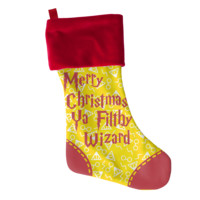 Filthy Wizard Christmas Stocking