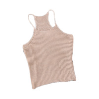 Strap Sleeve Knit Cami