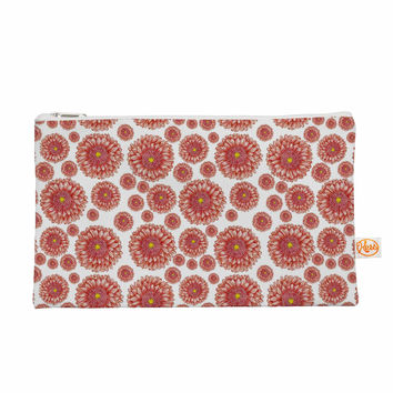 "Alisa Drukman ""Orange flowers. Gerbera"" Floral Pattern Everything Bag"