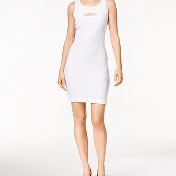 Thalia Sodi Lace Cutout Sheath Dress, Only at Macy's | macys.com