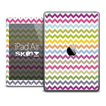 The Colorful Chevron Skin for the iPad Air