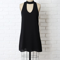 Celeste Mock Neck Dress-FINAL SALE