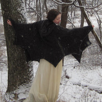 PDF Bat Cape Knitting Pattern - Instant Download