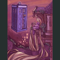 Rapunzel and the Doctor Poster