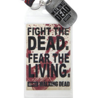 The Walking Dead Fight The Dead Lanyard