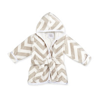 Infant Chevron Robe, Slate, grey - Swankie Blankie