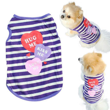 Super Deal 2016 Pet Dog Clothes Small Dog Coat clothes for dogs cachorro pet clothes products for dogs XT