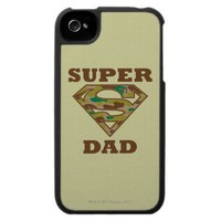 Super Dad Camo Case For The Iphone 4 from Zazzle.com