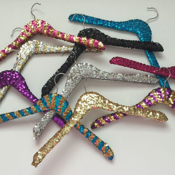 Sequin Hanger Multi Colors - Ruffles with Love - RWL