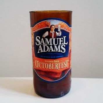 SEASONAL Sam Adams Octoberfest Brew Bottle Natural Soy Candle