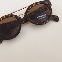 NWT Steve Madden Tortoise and Gold Designer Sunglasses