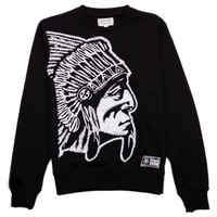 TOPS - SWEATSHIRTS - CREWNECK - Grand Hustle Gang Massive Crewneck Sweatshirt - Black - Buy Online at DTLR