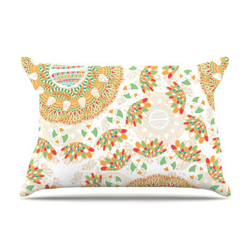 "Miranda Mol ""Bohemian Bright"" Geometric Multicolor Pillow Sham"