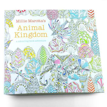 Pages  Animal  Kingdom  English  Edition  Coloring