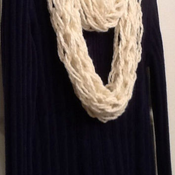 Arm knit scarf, pick your color