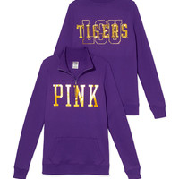 LSU Bling Half-zip Pullover - PINK - Victoria's Secret