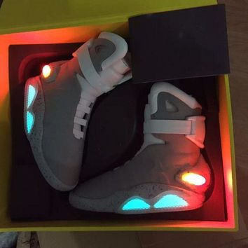 AIR Mag Marty McFly's Back To The Future Sneakers