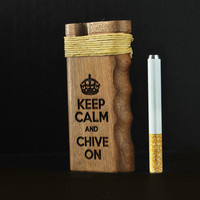 California Sea // KCCo Dugout One Hitter Keep Calm and Chive  On with Hemp wick