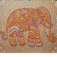 Trippy Tapestry //  THE ELEPHANT