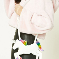 Faux Leather Unicorn Mini Bag