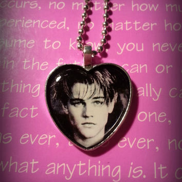 Leonardo DiCaprio Heart pendant necklace