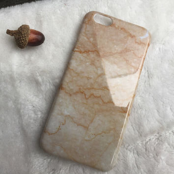 Champagne Marble iPhone 5s 6 6s Plus Case Cover Gift 2