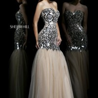 Sherri Hill Dress 21285 at Prom Dress Shop