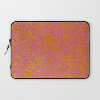 Mixx It Upp Laptop Sleeve by Ducky B