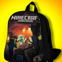 Minecraft Black SchoolBags.